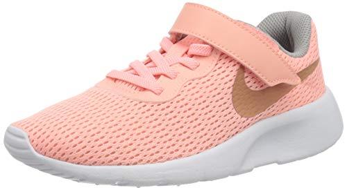 Nike Mädchen Tanjun (PSV) Laufschuhe, Pink (Pink Tint/MTLC Rose Gold/Atmosphere Grey 607), 31 EU
