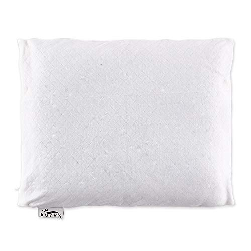 Bucky B630BWH-White-11- x 14- Inch 11- x 14- Inch Travel Duo Bed Pillow Case - White