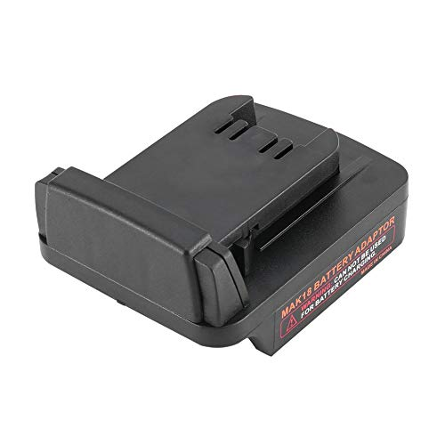 Converteringsadapter voor Makita 18V Li-Ion accu-adapter voor Milwaukee M18 boor Li-Ion Power Tools accu adapter - zwart