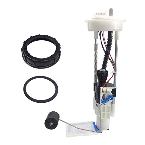 Fuel Pump Assembly Fit for 2014-2019 Polaris Ranger 900 570 XP Crew EPS, Electric Fuel Pump with Fuel Pump Module, Retaining Nut, Tank Seal Rubber Gasket - 2521307
