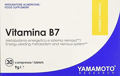 Yamamoto Research Vitamina B7 30 Compresse - 9 Gr