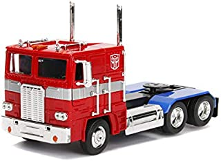 Transformers G1 Optimus Prime Truck with Robot on Chassis Die-cast Car