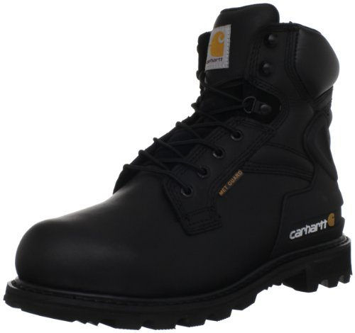 Carhartt Men's CMW6610 6 Internal Met Guard Safety Toe Boot, Black Oil Tanned, 12 M US