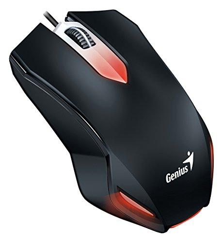 Mouse USB Gaming Genius X-G200 com Três Botões