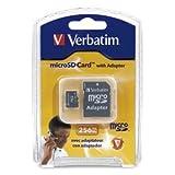 Verbatim 256MB Micro SD Card W/ADPT