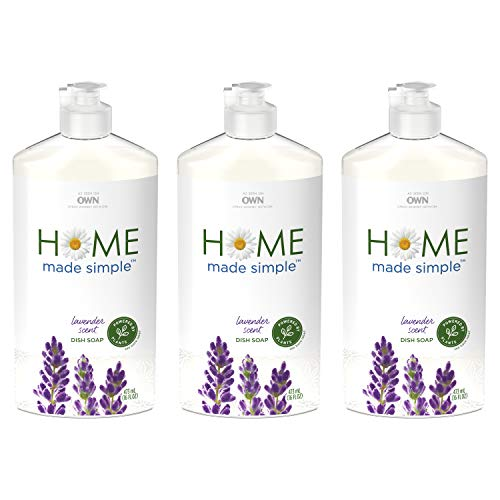 Home Made Simple Natural Dish Soap, Lavender Scent, 48 Fluid Ounce