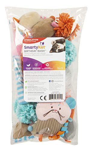 SmartyKat-Birthday-Bash-16-Piece-cat-Toy-Variety-Pack