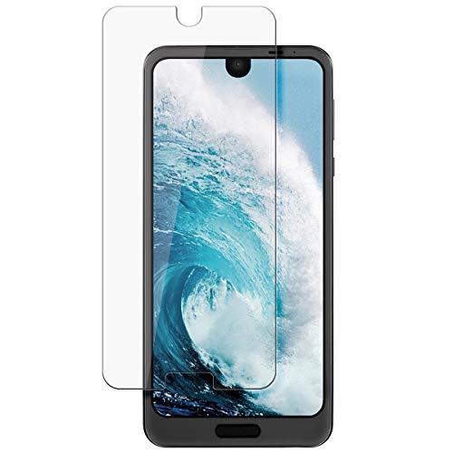 disGuard Protecteur d'écran [Crystal-Clear] Compatible avec Sharp Aquos R2 [2 Pièces] Limpide, Transparent, Invisible, Extrêmement résistant, Anti-Empreinte Digitale - Film Protecteur