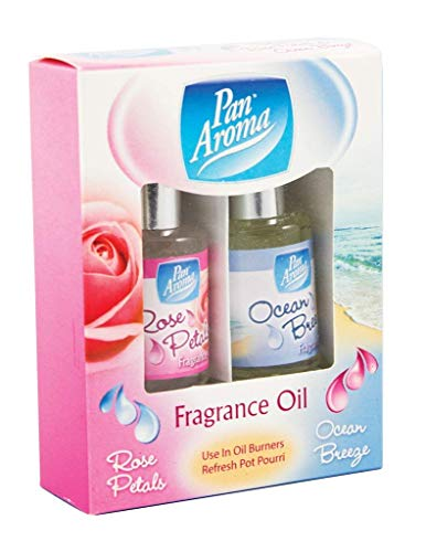 Pan Aroma huiles parfumées Lot de 2 Rose/Pet Breeze (321345)