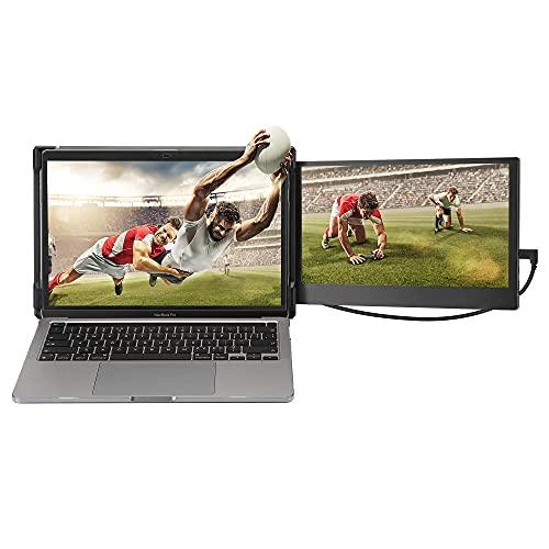OFIYAA P1 Portable Monitor Laptop Screen Extender Dual 11.6'' Display 1080P FHD IPS...