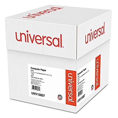 UNV15807 - Universal Computer Paper, 4 Pack