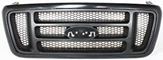 Crash Parts Plus Primed Shell w/ Gray Insert Grille Assembly for 2004-2008 Ford F-150 FO1200414