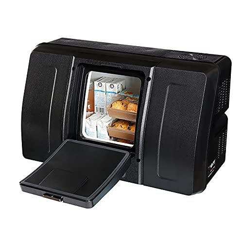 PEIHAN Refrigerador portátil de 18 litros para vehículos, automóviles, Camiones, caravanas, Barcos, Mini frigorífico congelador para Conducir, Viajar, Pescar, al Aire Libre -12 / 24V DC