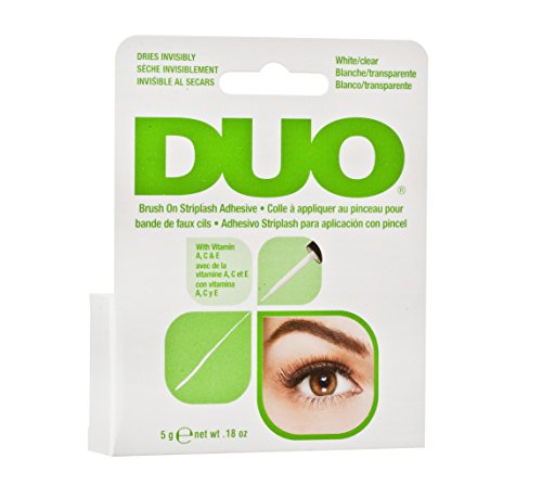 ARDELL DUO Brush on Adhesive with Vitamins A, C & E Wimpernkleber für künstliche Wimpern mit Vitamin A, C & E, das Original für perfekte lashes, 5g (1x)