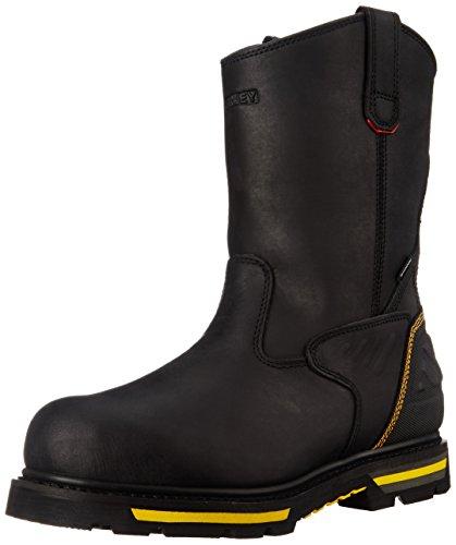 Stanley Men's Dropper Steel Toe Work Boot, Black, 10 M US