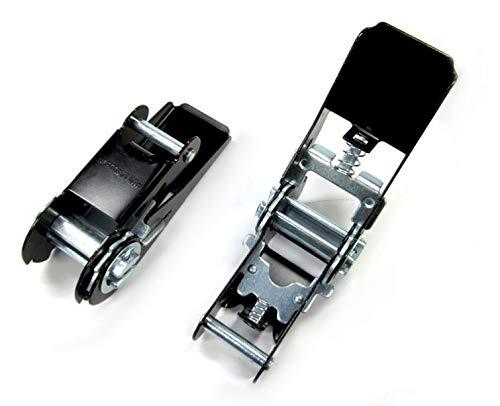2x Spannratsche Ratschen für 25 mm gurt schwarz Ratsche Gurt (929935)
