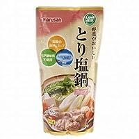 【11-3月】野菜がおいしいとり塩鍋スープ 600ml 【マルサン】※季節品