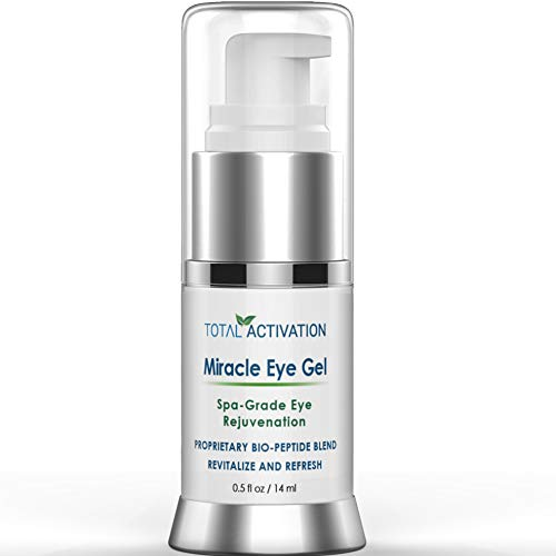 Dark Circles Under Eye Treatment Serum for Puffiness Dark Spot Corrector Age Spot Remover Anti Aging for Puffy Eyes compare with Eye Cream & Undereye Gel Patches 0.5 oz