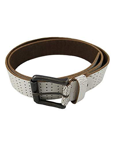 Mustard Haymoor Men's Leather Belt