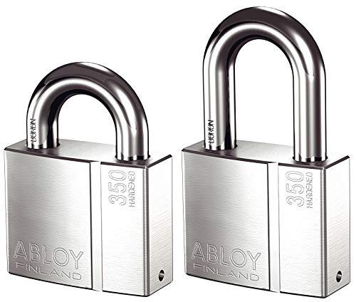 ABLOY PL350 Brass Padlock, Bright Chrome (PL350T/25)