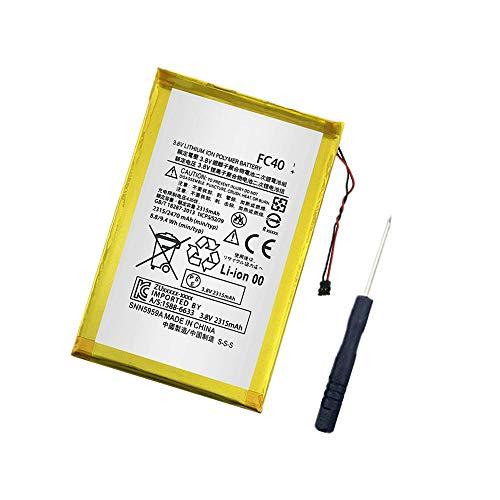 WXKJSHOP Batería de repuesto compatible con Motorola Moto G 3rd Gen G3 2015 XT1540 XT1541 XT1543 XT1544 XT1548 FC40 SNN5965A Mobile Phone 3,8 V 2470 mAh