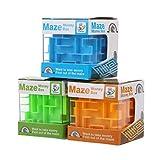 exing nouveauté Hucha 3d Money Maze Hucha Cube Puzzle caja de captación de monedas de regalo juguete para niños, plástico, Livraison Aléatoire, B