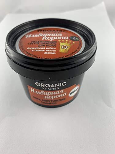Organic Kitchen Thick Moisturizing Shampoo 100 ml avocadi en gember