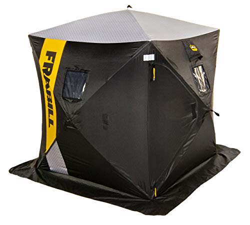 Frabill HQ 100 Hub 2-3 Man Shelter, Multi, One Size (641000)