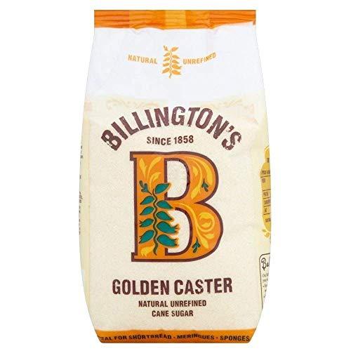Billington's Natural Golden Caster Unrefined Cane Sugar (1Kg)
