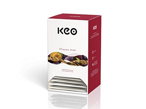 Keo Tee - PFLAUME ZIMT - Pyramidenbeutel 20x3,0g