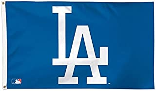 WinCraft MLB Los Angeles Dodgers 01778115 Deluxe Flag, 3' x 5'