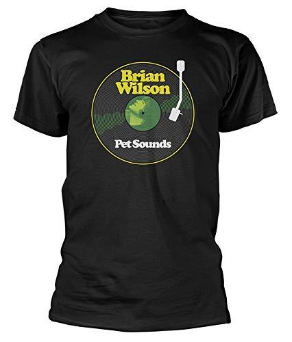 Brian Wilson 'Pet Sounds' (Black) T-Shirt - New & !