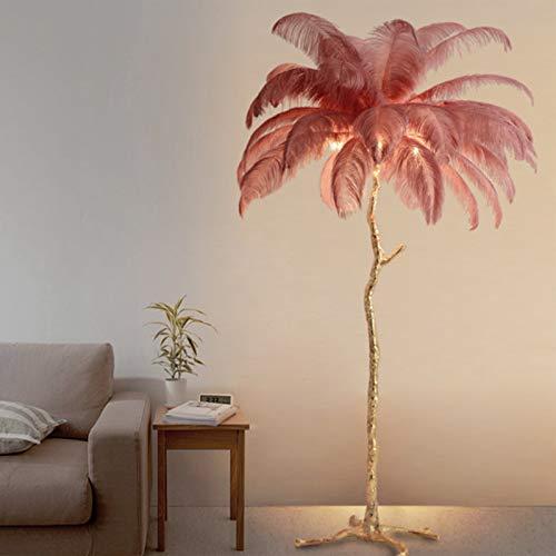 Izzya Stehlampe Modernes Design Zuhause Stehlampe Warm Und Romantisch Nordische Moderne Raum Stehlampe Kreative Kunst Feder Stehlampe,1.2m