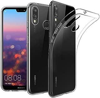 Huawei P20 Uyumlu Lite Kılıf Kapak Tam Şeffaf TPU Silikon