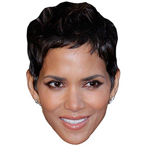 Celebrity Cutouts Halle Berry Maske aus Karton