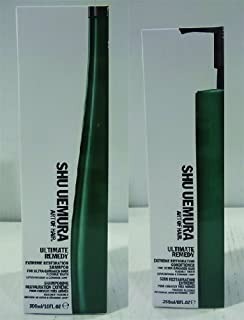 Shu Uemura Art Of Hair Ultimate Remedy Shampoo (300ml) And Conditioner (250ml) (Pack of 6)