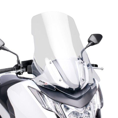 Puig 6035W Parabrezza V-Tech Line Touring per Motocicletta Honda Integra 700 2012, Trasparente, M