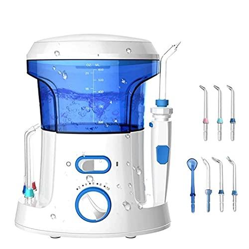 SVNA Flosser de Agua para encimera, irrigador bucal para el hogar, Limpiador de Dientes bucales, selección de SPA, Cuidado de los Dientes, Limpieza para la Familia