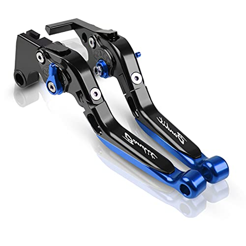 Palanca De Freno Extensible Plegable Ajustable para Motocicleta, Palanca De Embrague con...
