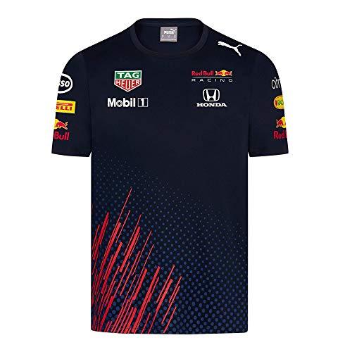 Red Bull Racing Official Teamline T-Shirt, Herren Medium - Original Merchandise