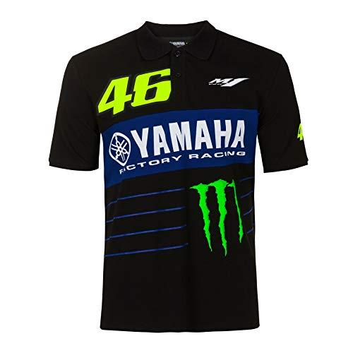Valentino Rossi Polo Shirt VR46 MotoGP M1 Power Line Logo Yamaha Offizielle 2020