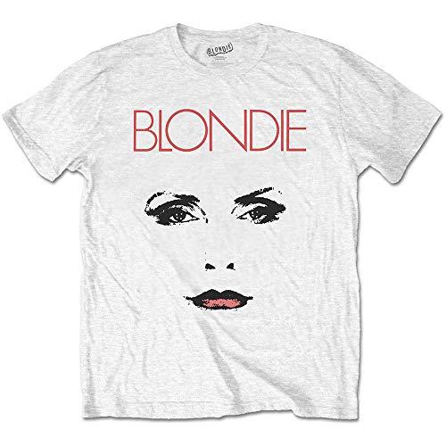 Blondie Face White T-shirt, Unisex, S to XXL