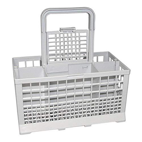 Repuestos para lavavajillas Lavavajillas Universal multipropósito Pieza para lavavajillas Cubeta de repuesto para cubiertos Caja de almacenamiento-gris BCVBFGCXVB