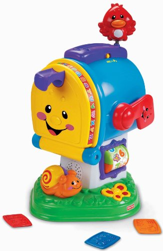 Fisher-Price Laugh & Learning Letters Mailbox (Toys That Start With The Letter U)