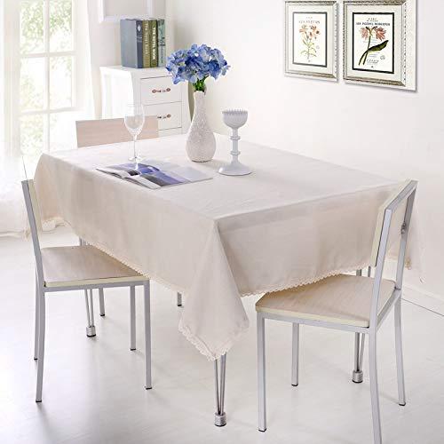 marca blanca Mantel de PVC con un paño de hule de vinilo para mesa de cocina, protector de 110 x 160 cm