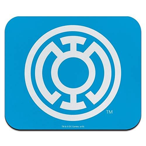Green Lantern Blackest Night Blue Lantern Logo Low Profile Thin Mouse Pad Mousepad