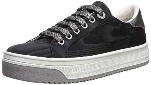 Marc Jacobs Women's Empire Multi Color Sole Sneaker, Black, 36 M EU (6 US)