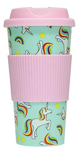 Fizz Creations Mug de Voyage Motif Licornes
