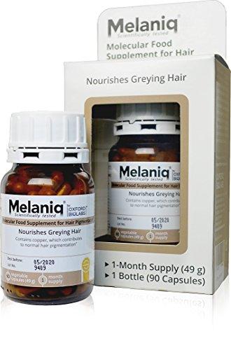 Melaniq Nahrungsergänzungsmittel für die Haarpigmentierung
