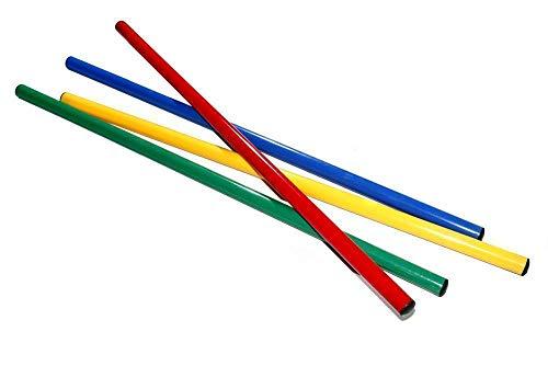 Boje Sport Set de 4 Picas de Colores, Longitud: 120 cm,